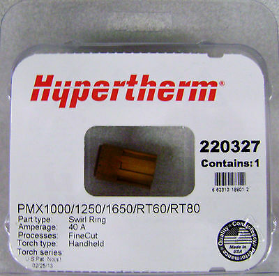Hypertherm Genuine Powermax 100012501650 Swirl Ring 220327
