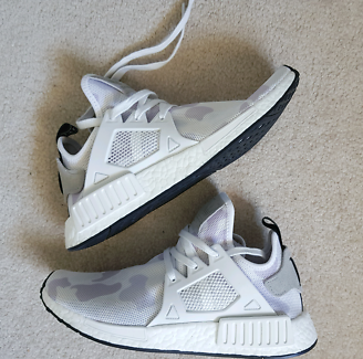 Adidas NMD XR1 White Duck Camo Size 9 Mens