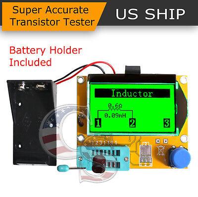 12864 Mega328 Esr Meter Transistor Resistor Diode Triode Capacitor Mosfet Tester