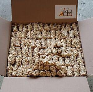 10 kg Anzündwolle Bioanzünder Holzwolle Anzünder Holzanzünder Kaminanzünder Öko