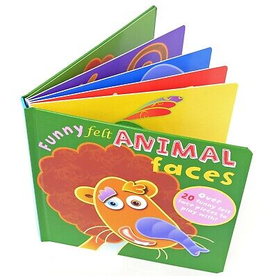 Funny Felts : Animal Faces. Felt Shapes Activity Book (Animal Faces)