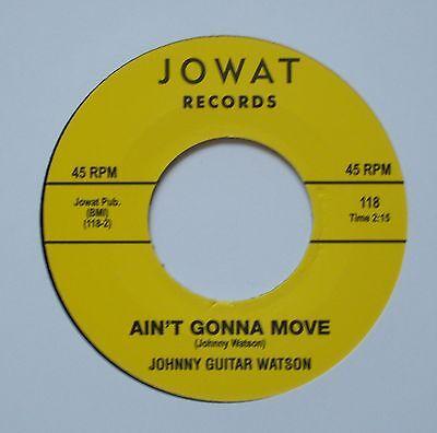 ♫ Northern Soul – JOHNNY GUITAR WATSON – AIN`T GONNA MOVE - Hear ♫