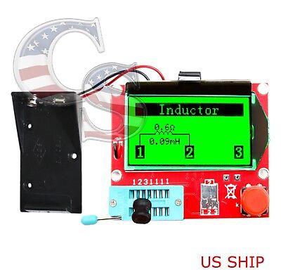 12864 Mega328 Esr Transistor Resistor Diode Capacitor Mosfet Inductance Tester