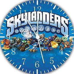 Skylanders wall Clock 10 will be nice Gift and Room wall Decor E15