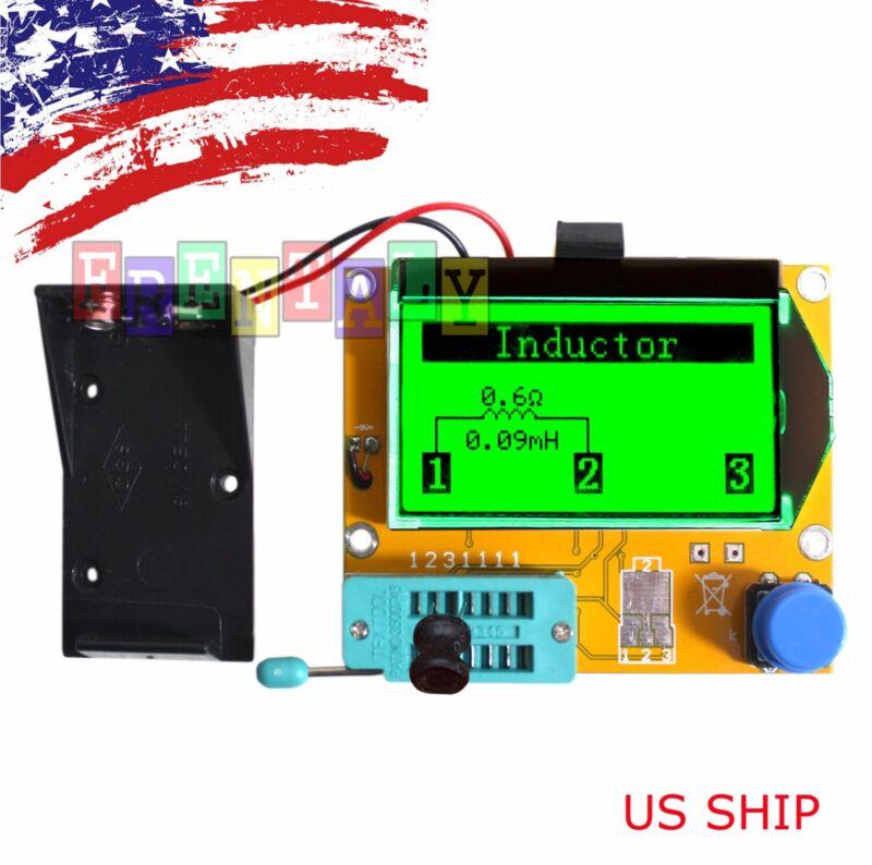 12864 Mega328 ESR Transistor Resistor Diode Capacitor Mosfet Tester