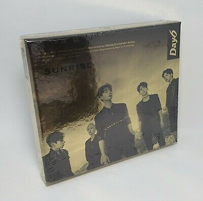 K-POP DAY6 1st Album [SUNRISE] CD+Photobook+2p P.Card+Clear Cover Set+16p Lyrics