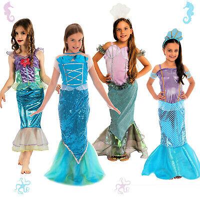 WOW FASCHING Meerjungfrau Kostüm Kinder Faschingskostüm Mädchen Kleid - Kinder China Kostüm