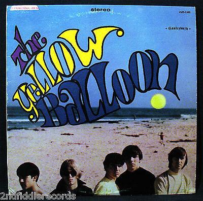 The Yellow Balloon Original Issue Sunshine Psych Rock Album Canterbury  Clps1502