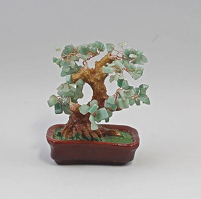 Jade-Baum Bonsai-Form Jadesteine als Laub 99825446