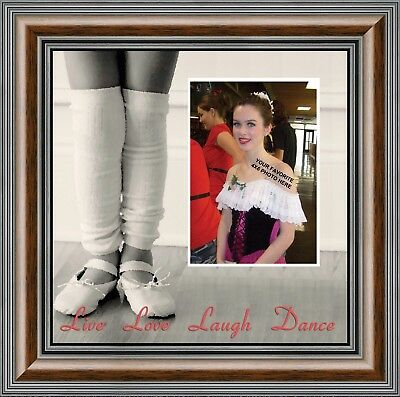 Ballet, Dancer Gifts for Teen Girls or Women, Personalized Picture Frame, 9721](Personalized Gifts For Girls)