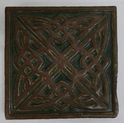 Hartford Faience Antique Geometric Tudor Tile