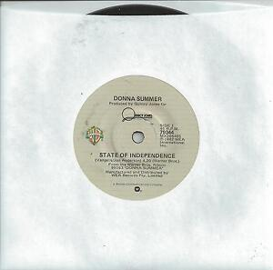 DONNA-SUMMER-STATE-OF-INDEPENDENCE-7-45-RECORD-1982
