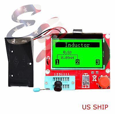 Red 12864 Mega328 ESR Transistor Resistor Diode Triode Capacitor Mosfet Tester