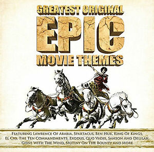 Greatest Original Epic Movie Themes - CD - BRAND NEW SEALED - BEN HUR SPARTACUS