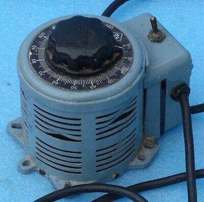 Powerstat 3pn116b Variable Autotransformer