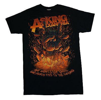 Asking Alexandria   Metal Hand   T Shirt S M L Xl 2Xl Brand New Official T Shirt