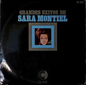 GRANDES EXITOS DE SARA MONTIEL-NM1970LP SPANISH IMPORT