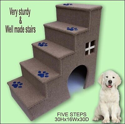 Luxury steps for dogs, Dogs furniture. 30 inches tall wooden (Luxury Dog Furniture)