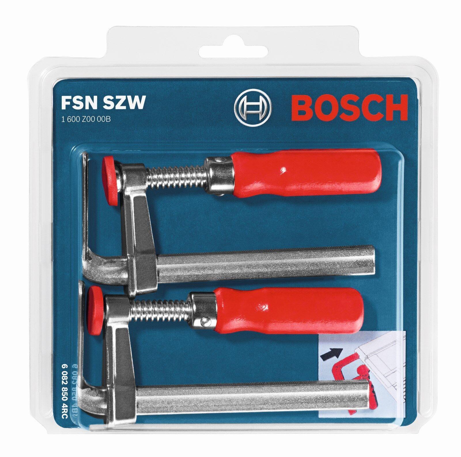 Bosch Schraubzwingen FSN SZW für die Führungsschiene von GKT/GKS 55/65/85 GCE