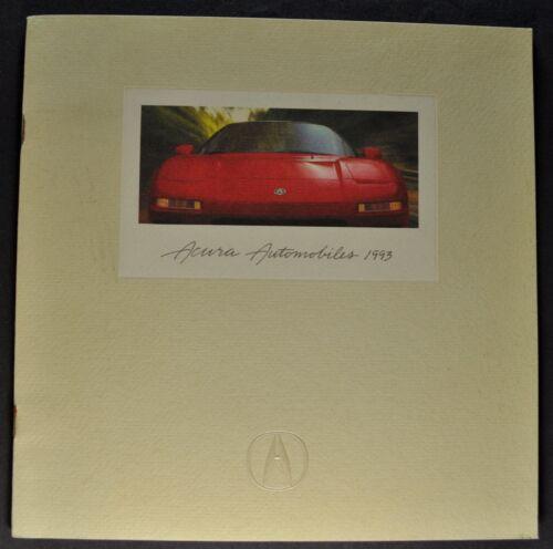 1993 Acura Catalog Sales Brochure NSX Legend Vigor Integra Excellent Original 93