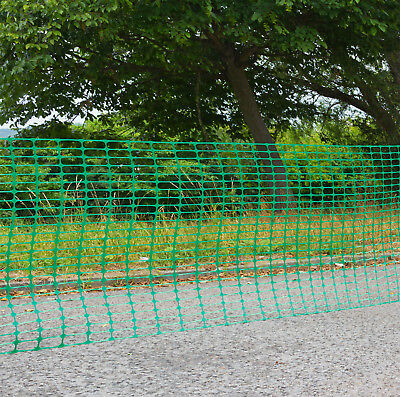 Schutznetz Bauzaun Zaun Schutzzaun Mobilzaun Rollzaun Absperrzaun 30x1 m grün
