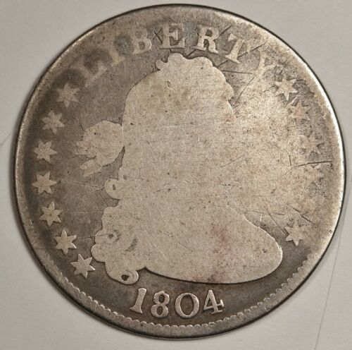 1804 Bust Quarter.  Circulated.  145827