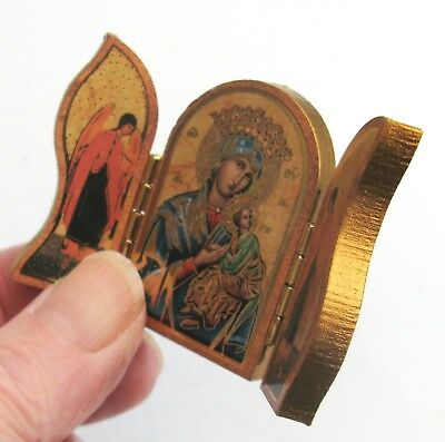 Our Lady of Perpetual Help Small Folding/standing/pocket/car Icon