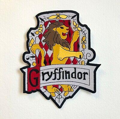 Gryffindor Harry Porter Insignia Grande de Coser Parche Bordado