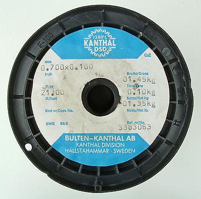 5m 0.7x0.1mm 29 Gauge Awg 21m 6.4ft Flat Ribbon Kanthal Dsd Resistance Wire