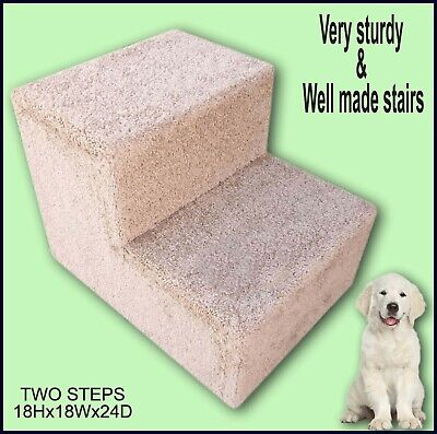 Pet stairs for bed. Doggy Steps. Dog Staircase. Pet furniture, Disabled dogs. ()