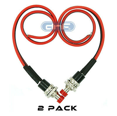 2peck Mini Push Button Pre-wired Momentary No Off-on Switch Plug 12v 3amp Spst