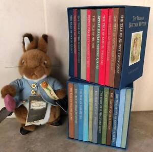 THE COMPLETE TALES OF BEATRIX POTTER Folio Society collectables.