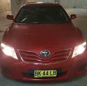 Toyota camry Altise 2011 cherry red colour Auburn Auburn Area Preview