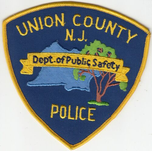 (OLDER) UNION COUNTY POLICE DEPARTMENT OF PUBLIC SAFETY NEW JERSEY NJ