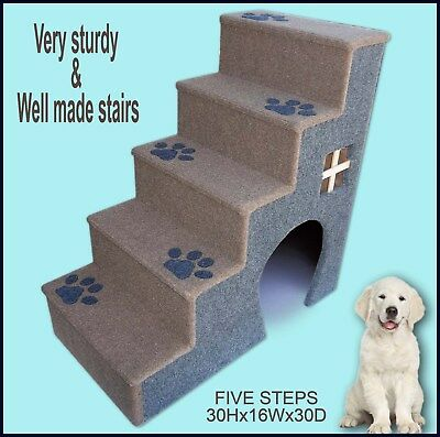 Dog Steps For Bed, Pet furniture, Puppy steps, Pet Supplies. Pet Ladder.