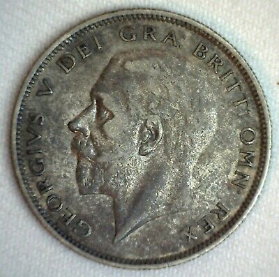 1930 Great Britain Silver 1/2 Crown Coin Circulated You Grade British George V
