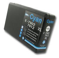 1 Xl Cyan Ink Cartridge For Epson Workforce Pro Wf-5110dw Wf-4630dwf Wf4640dtwf - ink frog - ebay.co.uk