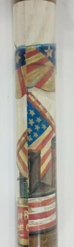 NIP Rosedale Americana rustic flag pre-pasted vinyl wallpaper border 5 yds