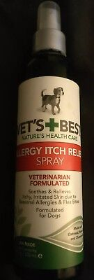 Vet's Best Allergy Itch Relief Spray for Dogs, 8 oz *NEW*