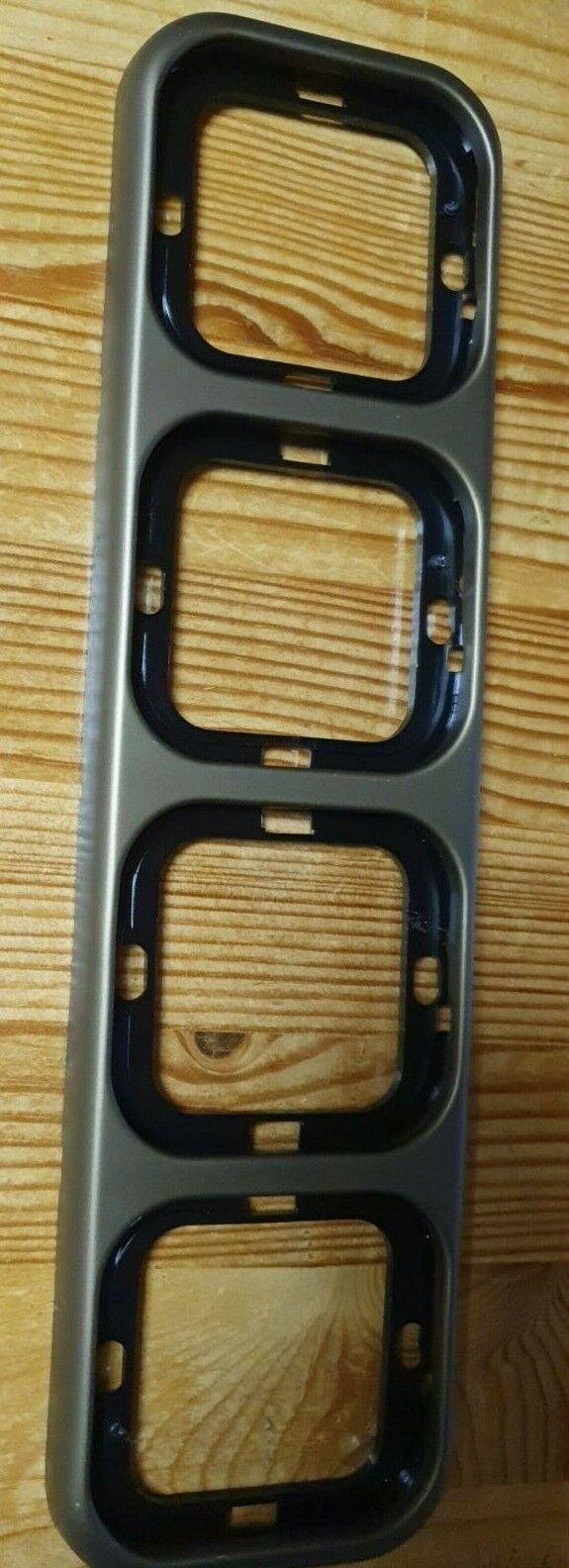 Busch Jaeger LX Rahmen 4-fach bronze senkrecht