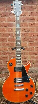Sheridan A200 Les Paul Electric Guitar EMG HZ Pickups Double Bound Grover Tuners