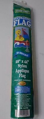 Decorative Nylon Applique Flag Big Bird's Boat 28