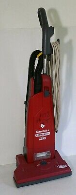 Sanitaire Commercial Upright Vacuum Cleaner SC4570 B-1 True HEPA Filter Red