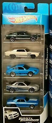 2020 Hot Wheels Fast Furious 5 Pack Mustang Monte Carlo Porsche Skyline Camaro