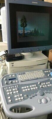 N Siemens Acuson Sequoia 512 Ultrasound With 1 Printer 5 Probes B179