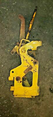 John Deere 440b Cable Skidder Shift Lever Assembly Power Shift Shifter Bracket