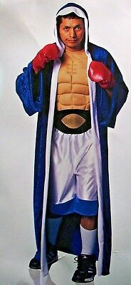 Prize Fighter Boxer UFC Sports Costume Champion Athlete Adult Muscle Chest MMA