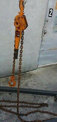 Harrington 3 Ton Come Along Chain Hoist Lb030