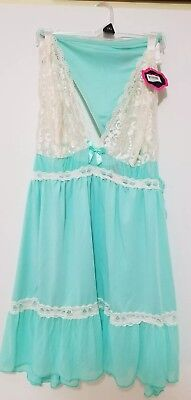 NEW Women's Plus Baby Doll & Thong Panty Lingerie Night Gown Shortie SZ 1XL 1166](Adult Baby Lingerie)