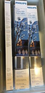 Phillips White Led Stake lights - 1 box left